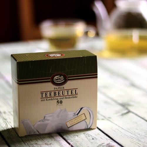 Komposztálható teafilter tasak