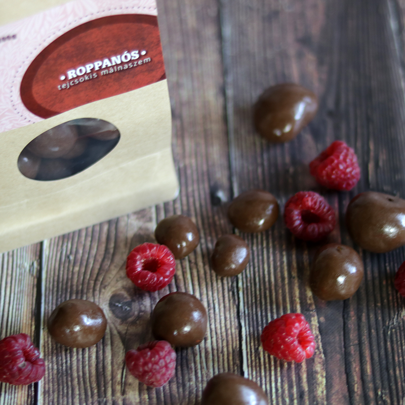 Zahara Roppanós csoki drazsé málnaszemmel