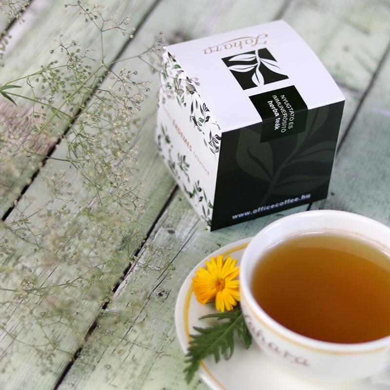 Nyugtató és immunerősító gyógynövény tea válogatás doboz - Zahara tea