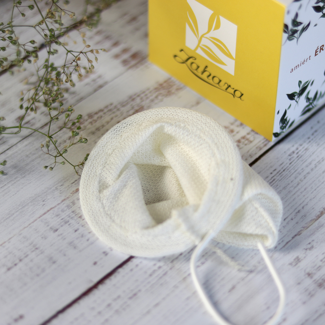 vászon textil teaszűrő teáskannába helyezhető teaszűrő