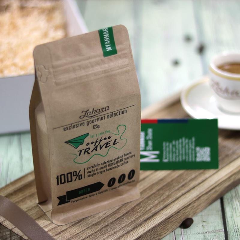 Myanmar Shan State szemes zöld kávé