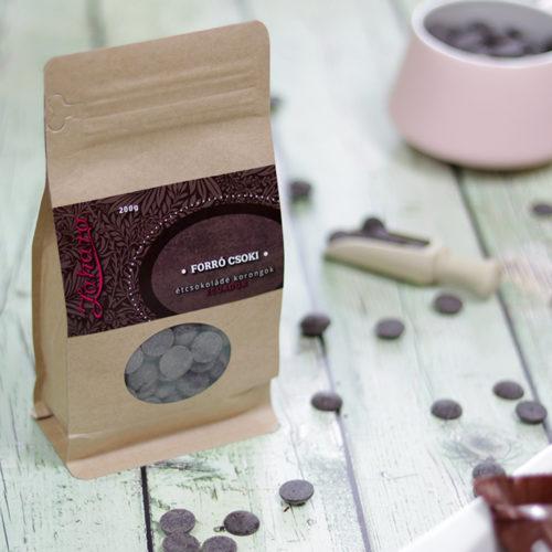 Zahara Equador single origin forró csoki pasztilla - étcsokoládé -Zahara