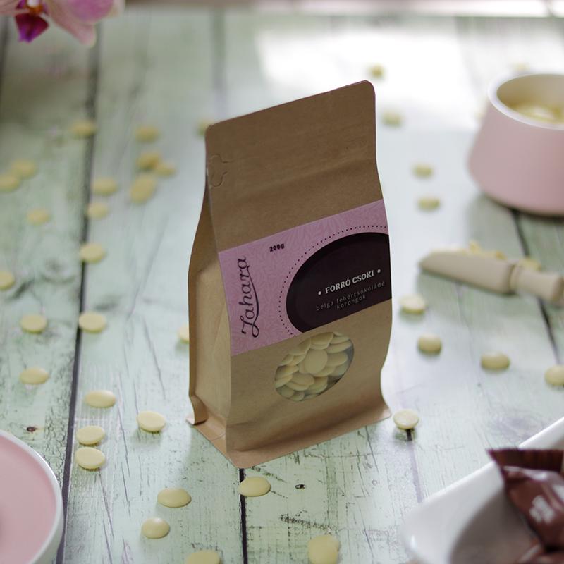 Zahara forró csoki pasztilla - belga tejcsokoládé