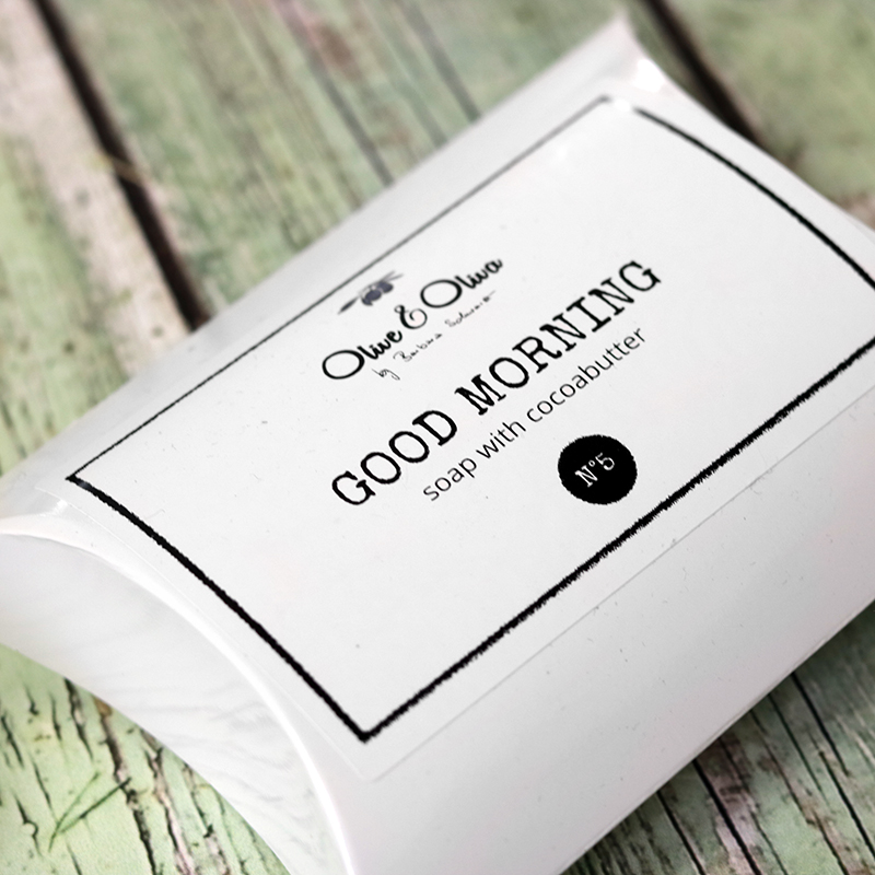 Kávés szappan - natúrkozmetikumok fadobozos ajándékcsomag