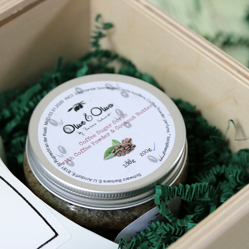 Fadobozos natúrkozmetikum ajándékcsomag