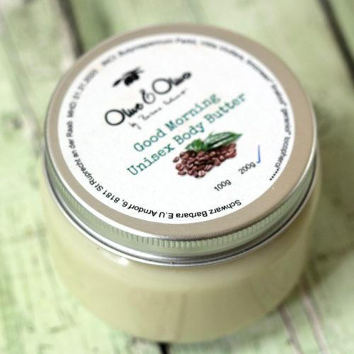 Kávés testápoló vaj - kakaóvaj -natúrkozmetikumok - ajándékcsomag