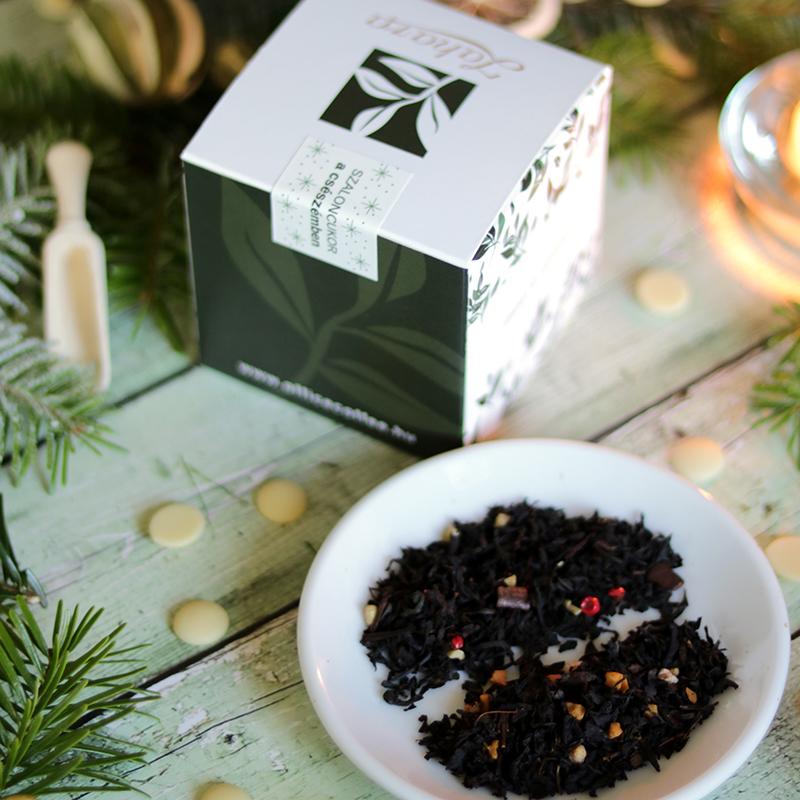 Zahara Szaloncukor a csészémben karácsonyi tea válogatás - szálas tea doboz