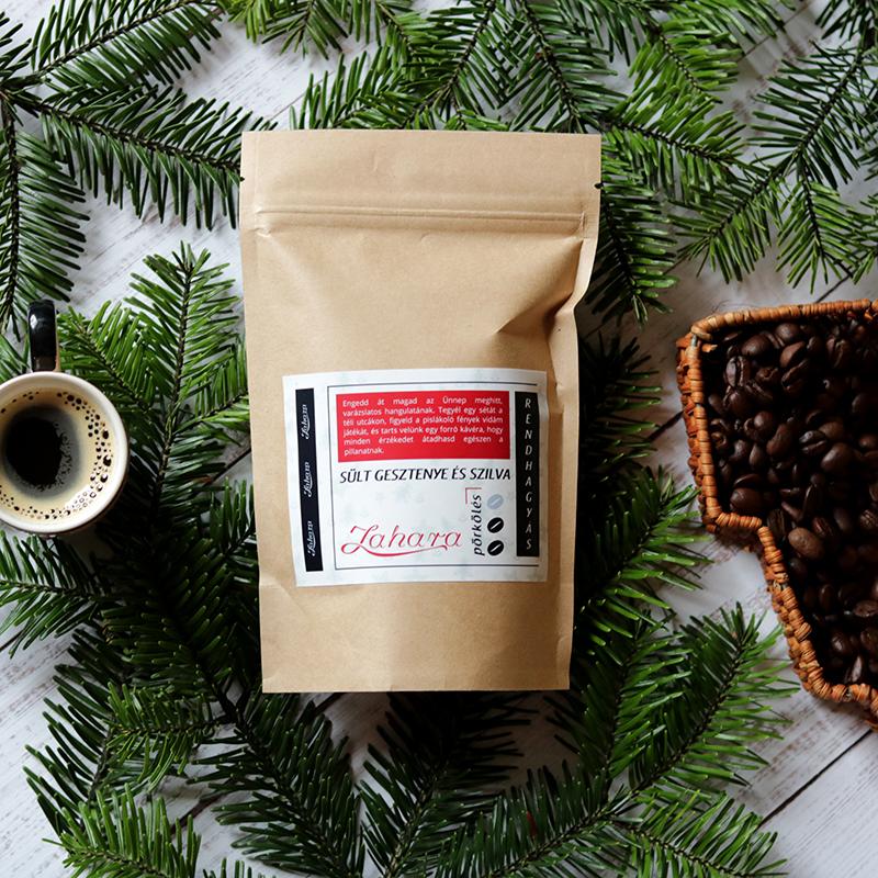 Rendhagyás szilvás sült gesztenyés karácsonyi kávé - Zahara