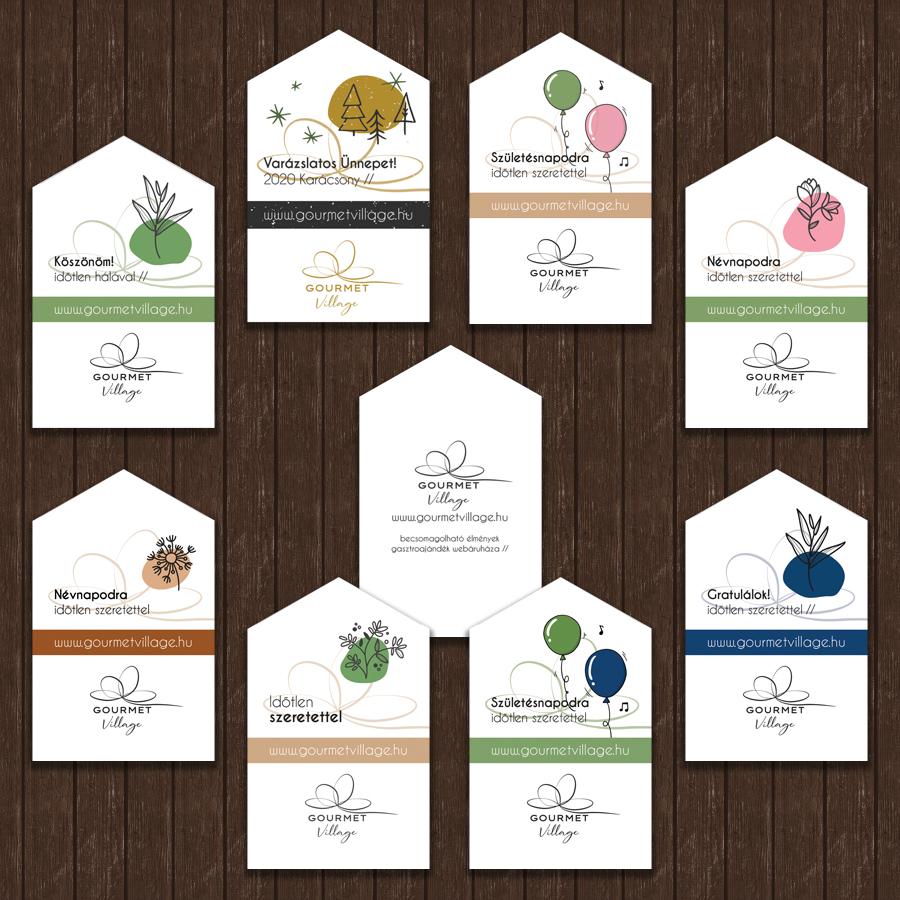 Ajándékkártya - ajándék kísérőkártya GourmetVillage