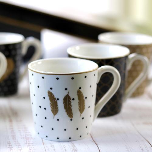 Vintage espresso kávéscsésze készlet