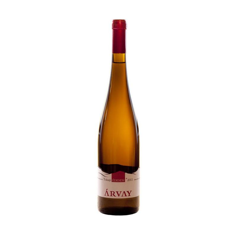 Tokaji édes bor Árvay pincészet sárgamuskotály
