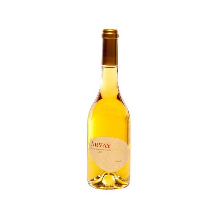 Tokaji 6 puttonyos aszú bor Árvay pincészet