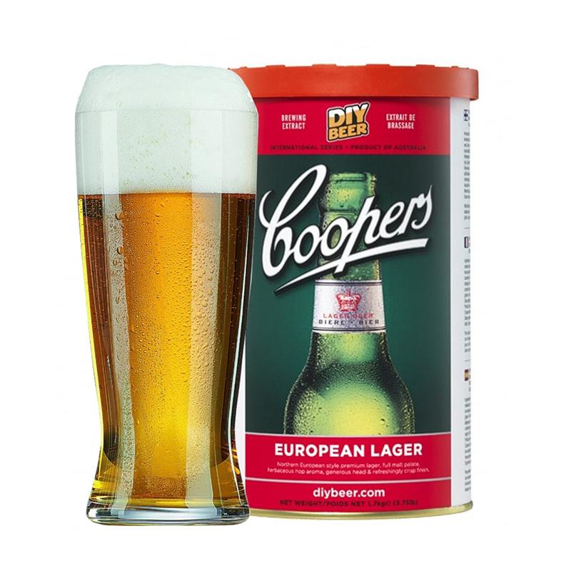Coopers európai világos lager sörsűrítmény, instant sör, házisör