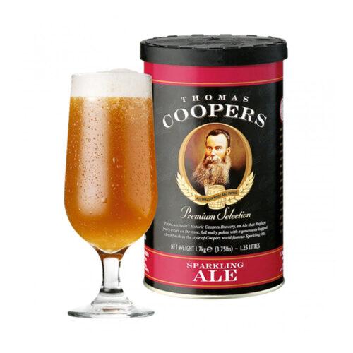 Coopers gyöngyöző ale sörsűrítmény, instant sör