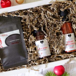 Chili ajándékcsomag - karácsonyi gasztroajándék doboz