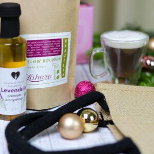 Kézműves kávé ajándékcsomag - karácsonyi gasztroajándék