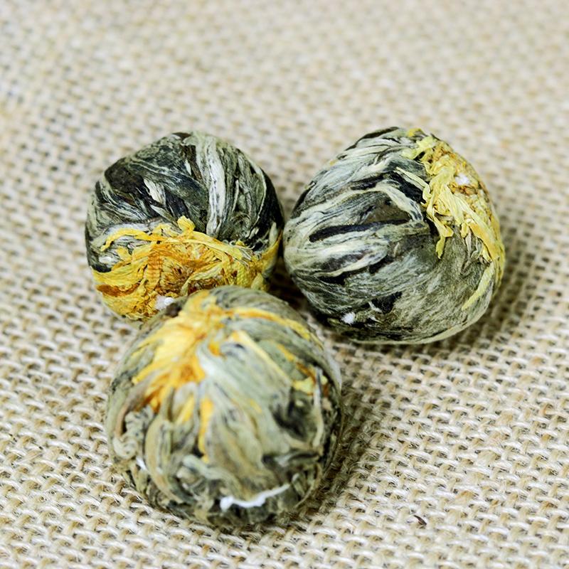 Virágzó tea golyó - tea ajándék