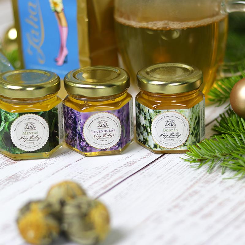 Pannonhalmi gyógynövényes méz válogatás