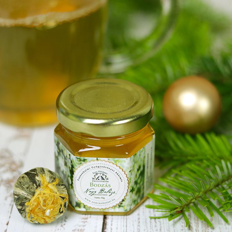 Zümi bodza méz - bodzás méz és virágzó tea golyó