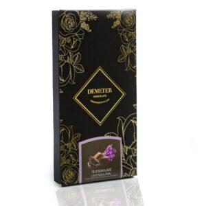 Levendulás csoki táblás tejcsokoládé kézműves csokoládé kézműves csoki