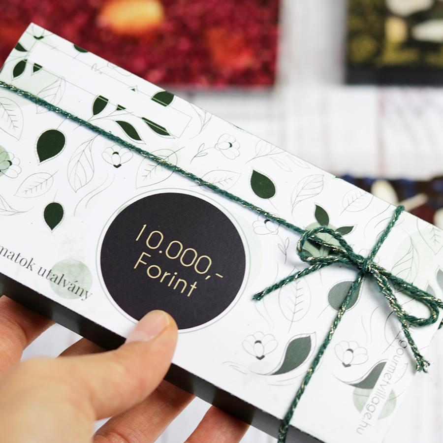 Íz élmény ajándékutalvány - gasztroajándék utalvány