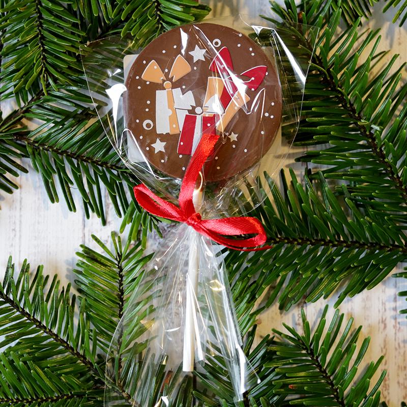 Karácsonyi csokinyalóka ajándékcsomagos