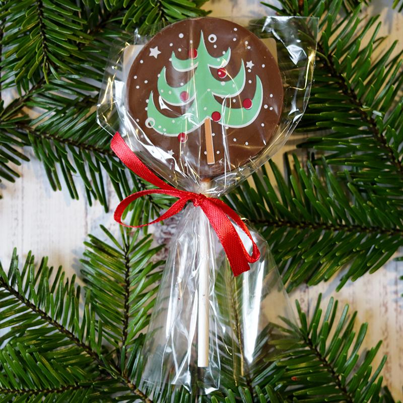 Karácsonyi csokinyalóka fenyőfás