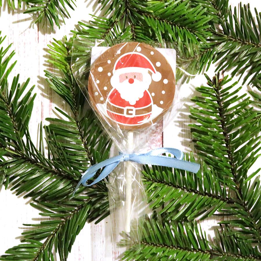 Karácsonyi csokinyalóka télapós