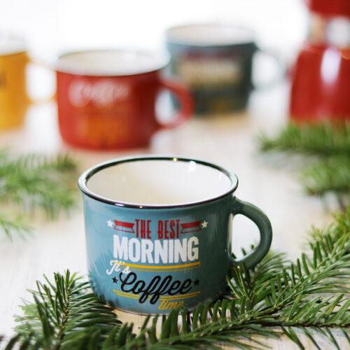 Retro / vintage mokkás csésze, kerámia kávéscsésze