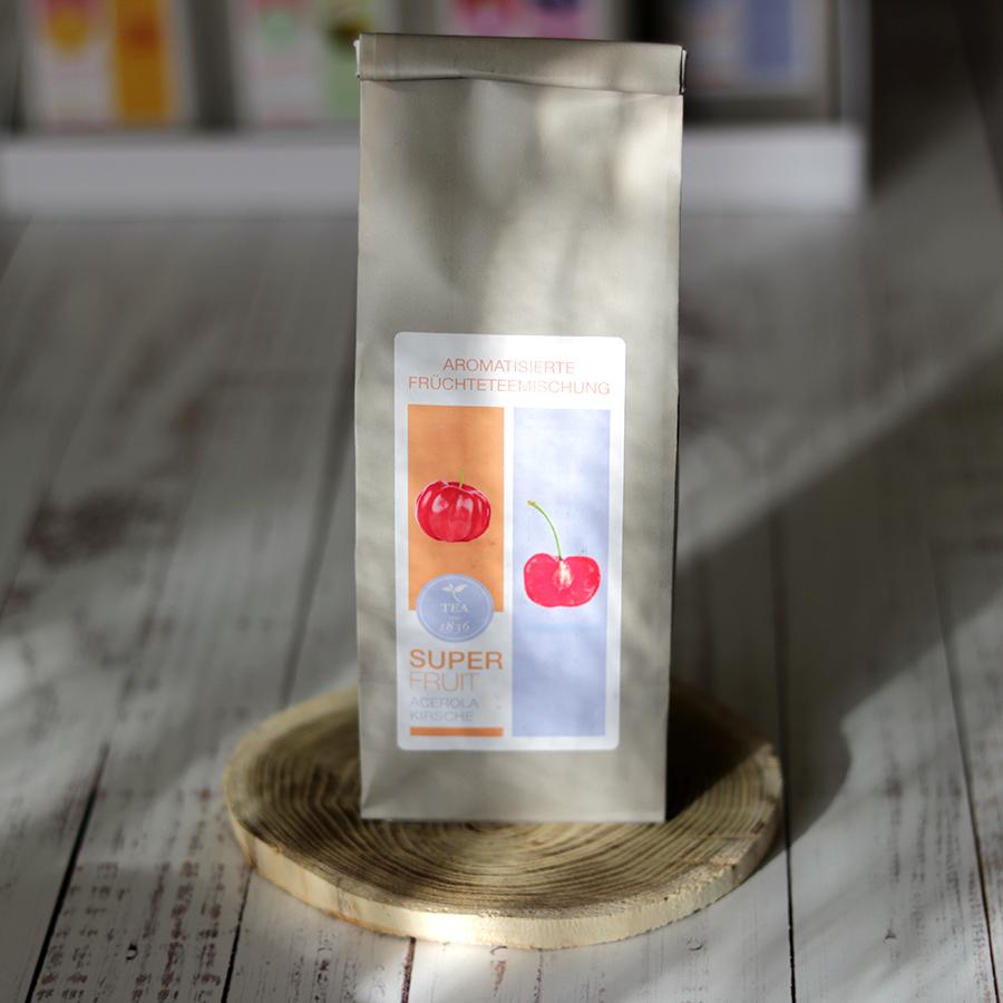 Szupergyümölcs szálas gyümölcstea acerola és cseresznye