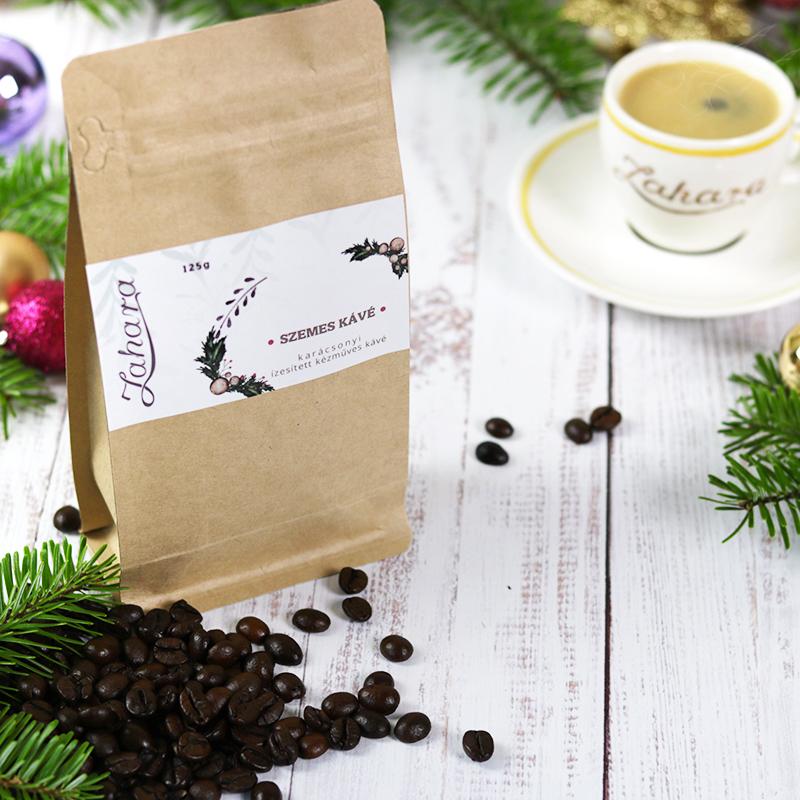 Zahara karamellás karácsonyi kávé