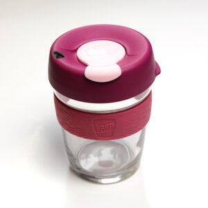 Keepcup brew coffee to go üveg kávéspohár - Blossom M