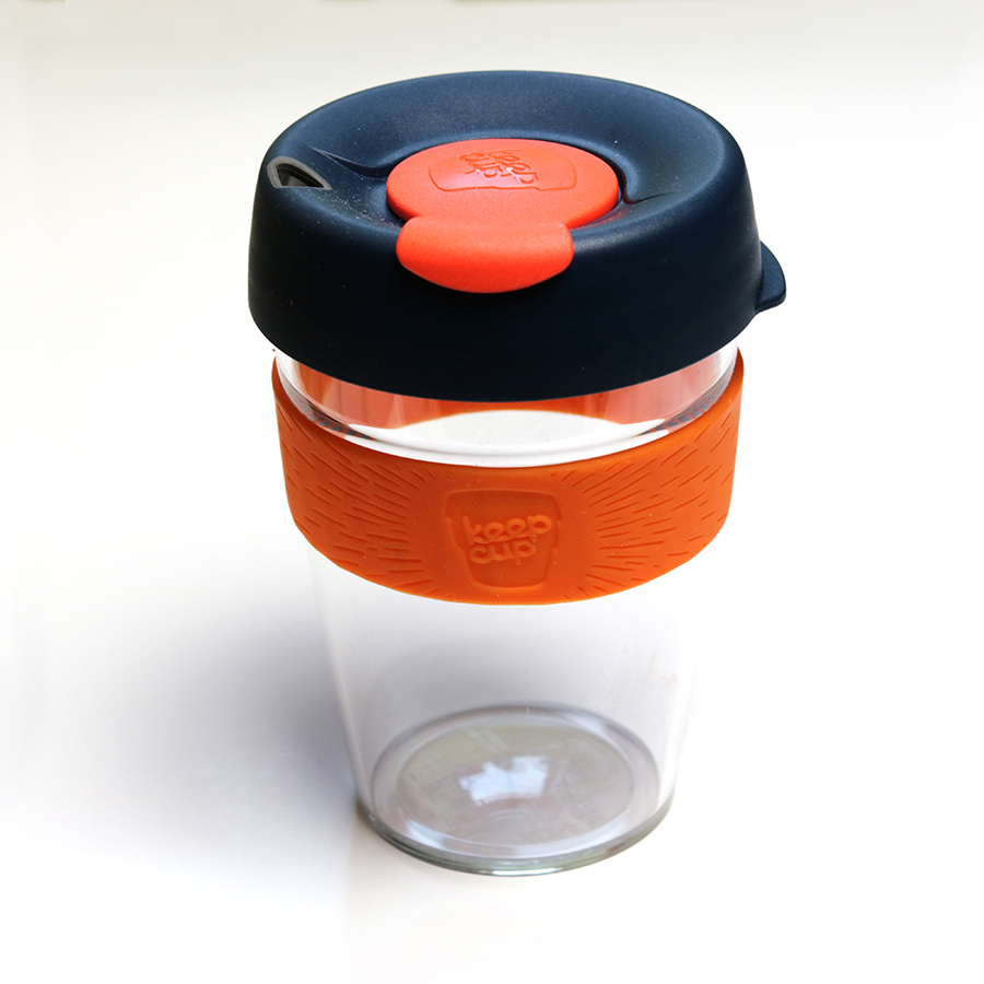 Keepcup Clear coffee to go kávéspohár - Coctail M