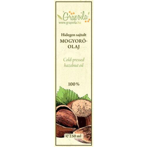 hidegen sajtolt mogyoróolaj grate taste nyertes olaj kézműves termék a grapoilától