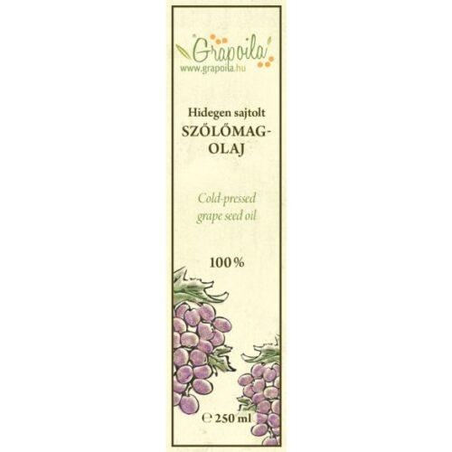 hidegen sajtolt szőlőmagolaj grate taste nyertes olaj kézműves termék a grapoilától