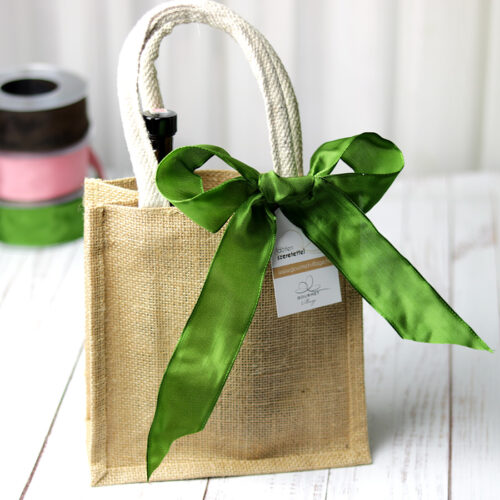 Kicsi juta táska - ajándéktáska