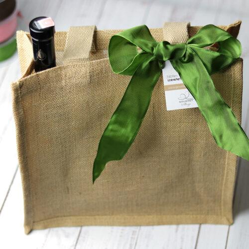 Juta táska - ajándéktáska
