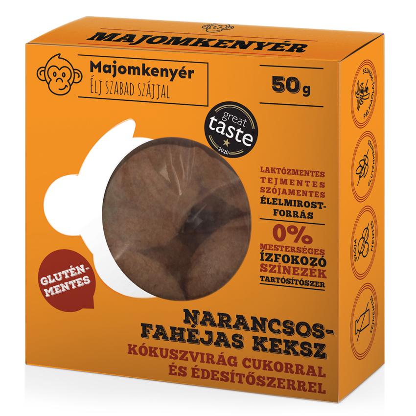 kézműves keksz teasütemény ajándék keksz egészséges keksz majomkenyér gluténmentes fahéjas narancsos keksz grate taste nyertes