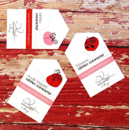 Ajándákkártya, üdvözlőkártya Valentin napra, Nőnapra és Anyák napjára
