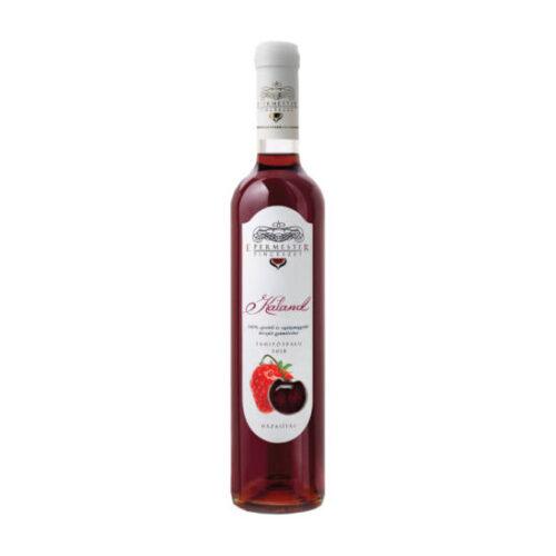 tahitótfalui díjnyertes meggy és eper gyümölcsbor félédes gyümölcsbor epermester pincészet desszertbor