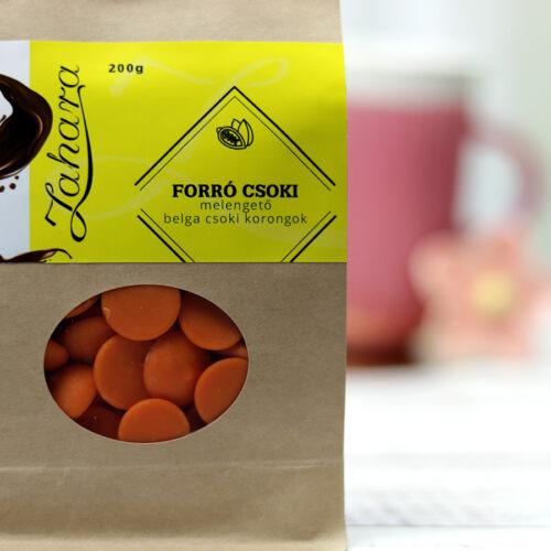 Narancsos ízesített forró csoki pasztilla