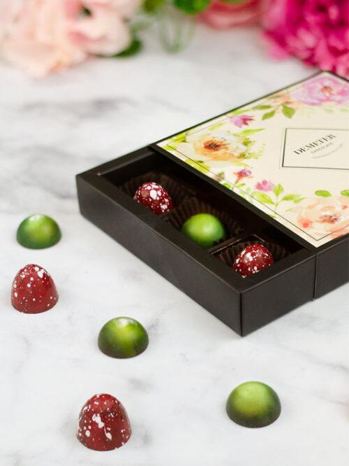 Demeter kézműves bonbonválogatás kézműves csoki ajándékdoboz