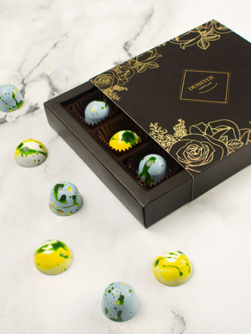 Demeter kézműves bonbonválogatás pároknak kézműves csoki ajándékdoboz