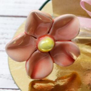 Kerámia virág - szellőrózsa