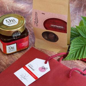 Lady's Crunch csokidrazsé és méz édesség ajándékcsomag nőknek